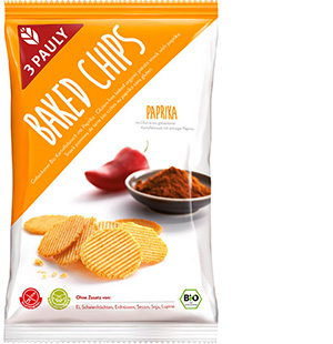 Baked Chips Paprika